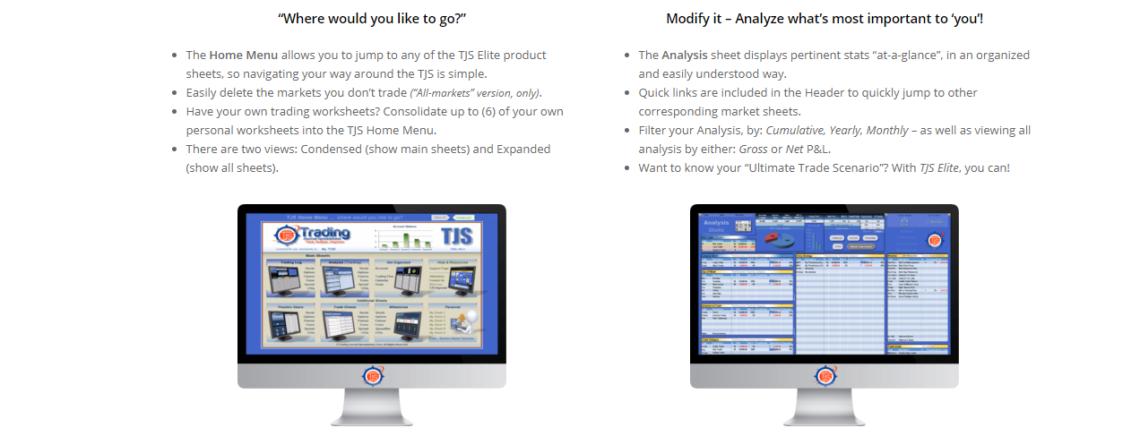 Launch of New TJS website and Trading Journal Spreadsheet Elite V8