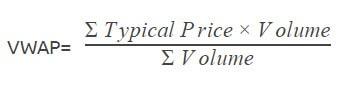 VWAP formula