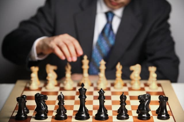 Focus on playing chess
